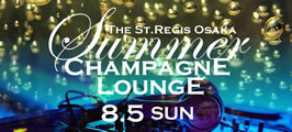 Summer Champagne Lounge